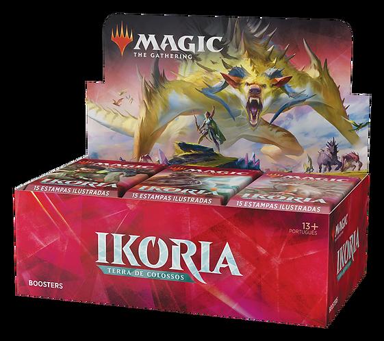 MTG Ikoria Terra de Colossos Draft Booster Box