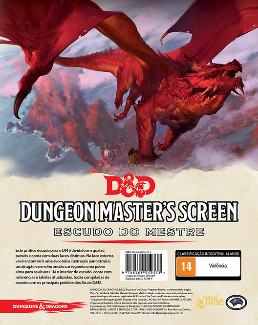 DnD5e Dungeon Masters Screen