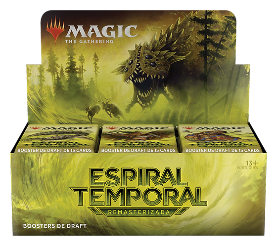 MTG Time Spiral Draft Booster BOX PT-BR