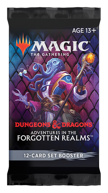MTG Adventures in the Forgotten Realms Set Booster PACK Ingles