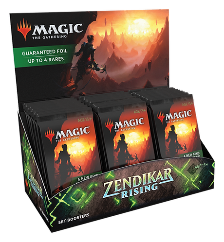 MTG Zendikar Rising Set Booster Box