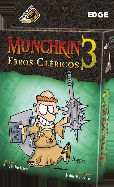 Munchkin 3 Erros Clericos