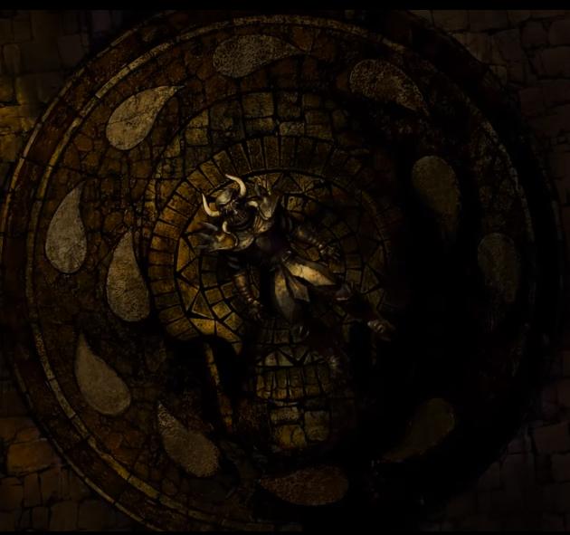 No final de Baldur's Gate, um dos filhos de Bhaal morre.