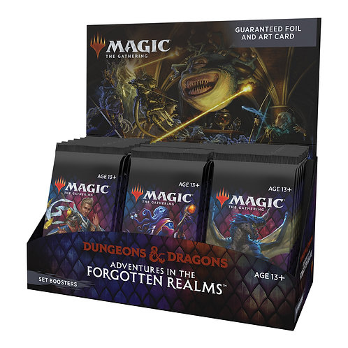 MTG Adventures in the Forgotten Realms Set Booster Box Ingles