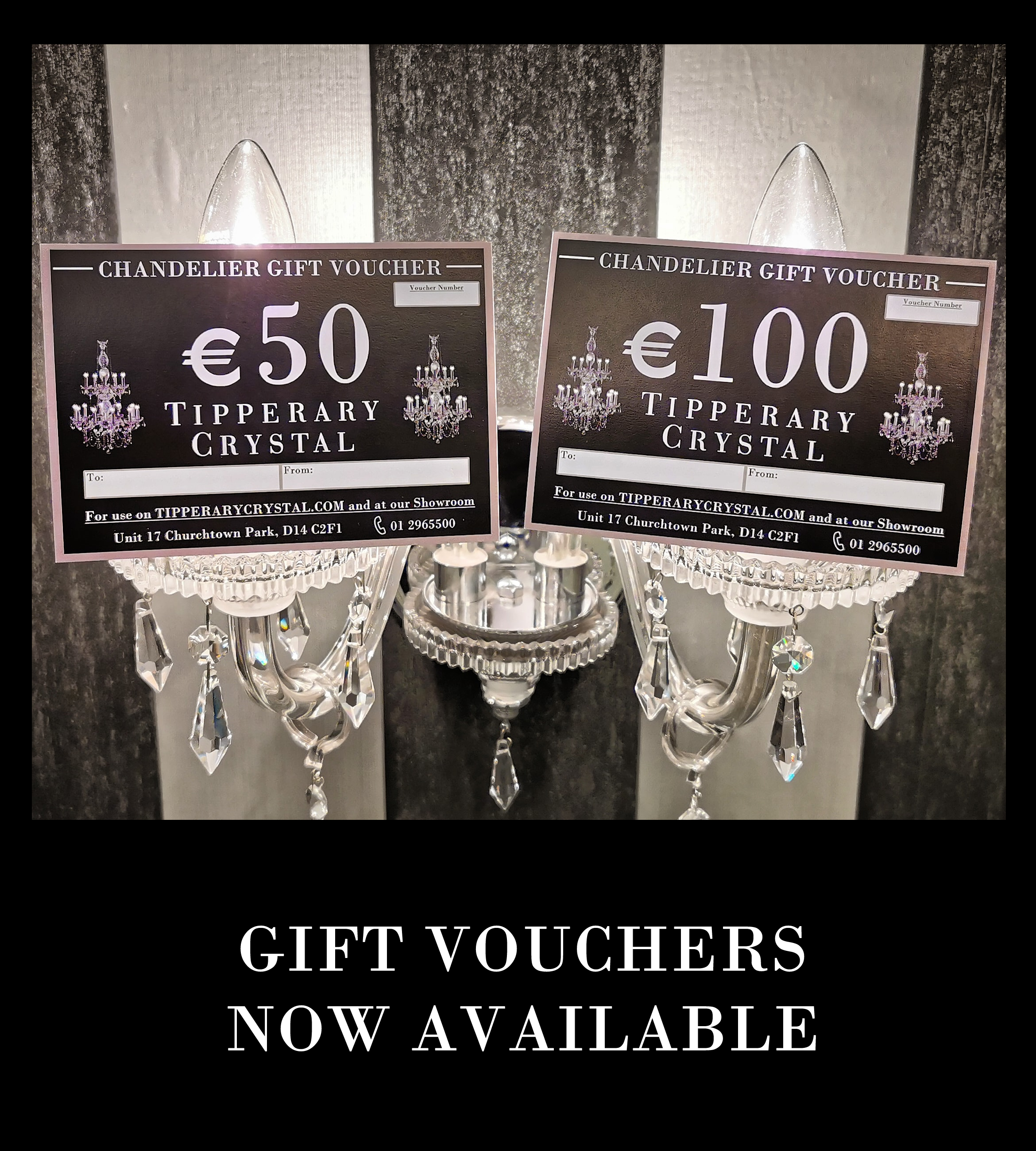 Tipperary Crystal Gift Vouchers