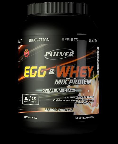 Mix Protein 1KG Sabor Vainilla o Chocolate