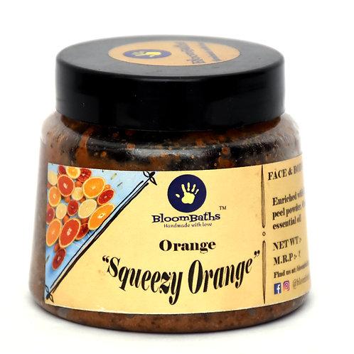 Squeezy Orange Daily Scrub