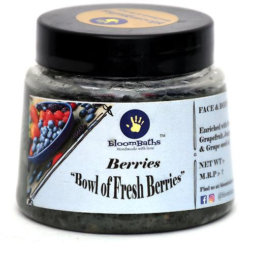 Berries- Antioxidants rich Daily face Scrub