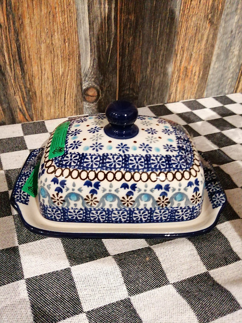 Butter Dish with  plate Seville