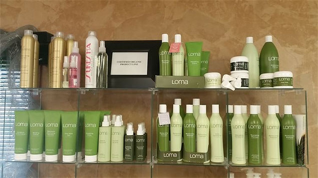 Loma Hair Care products