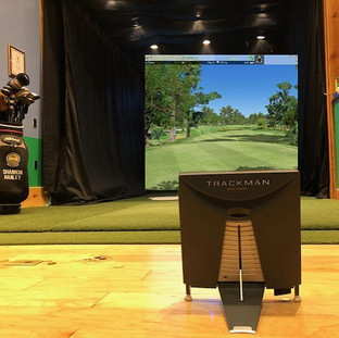 Trackman 4 in Hanley Golf Studio