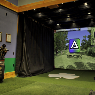 Indoor Golf Simulator - Hanley Golf Studio