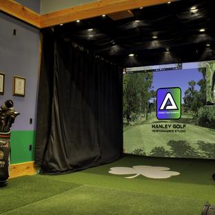 Indoor Golf Simulator - Hanley Golf Studio