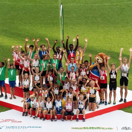Erfolgreiche Ostschweizer Athleten am UBS Kids Cup Schweizerfinal