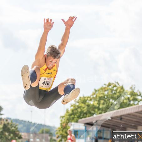 Erfolgreiche Ostschweizer Athletinnen und Athleten an der Nachwuchs-SM in Düdingen und Winterthur