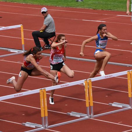 Larissa Bertényi persönliche Bestleistung an der U20-EM