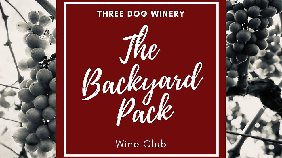 The Backyard Pack - Wine Club Yearly Subscription