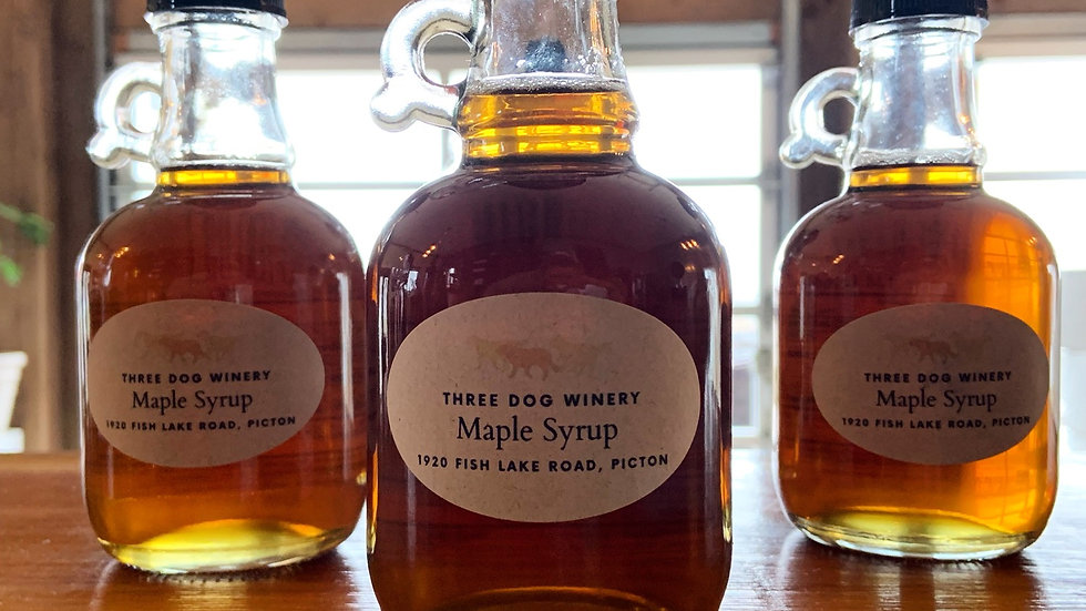 Three Dog Winery Maple Syrup 250ml