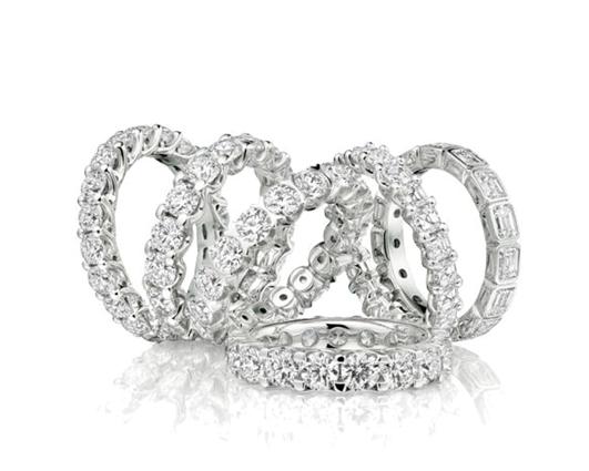 Anello Girodito  diamanti naturali