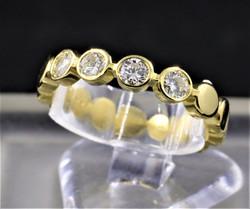 Riviera a 5 diamanti 0,40ct. € 800,00