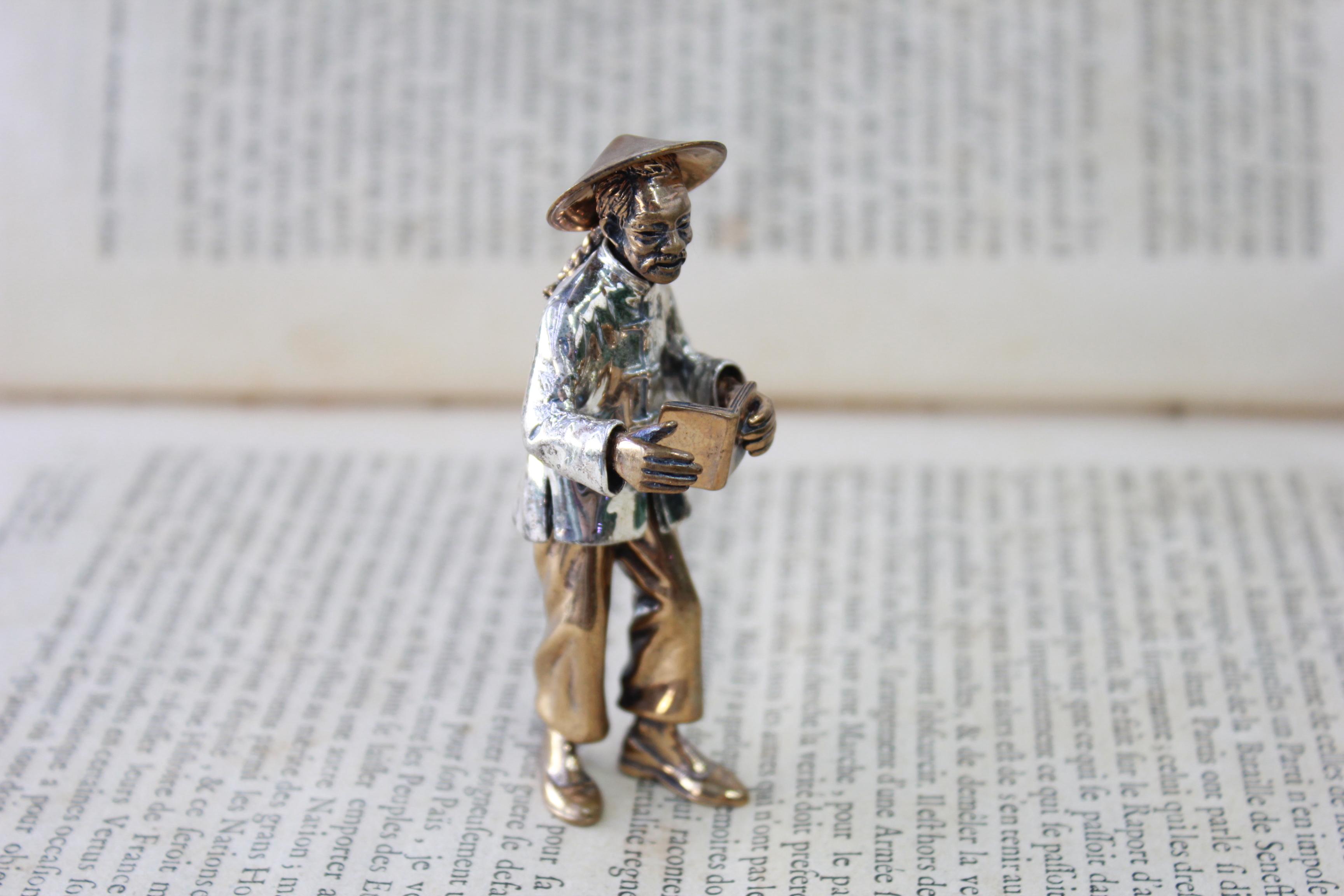 Miniatura in argento antica 004