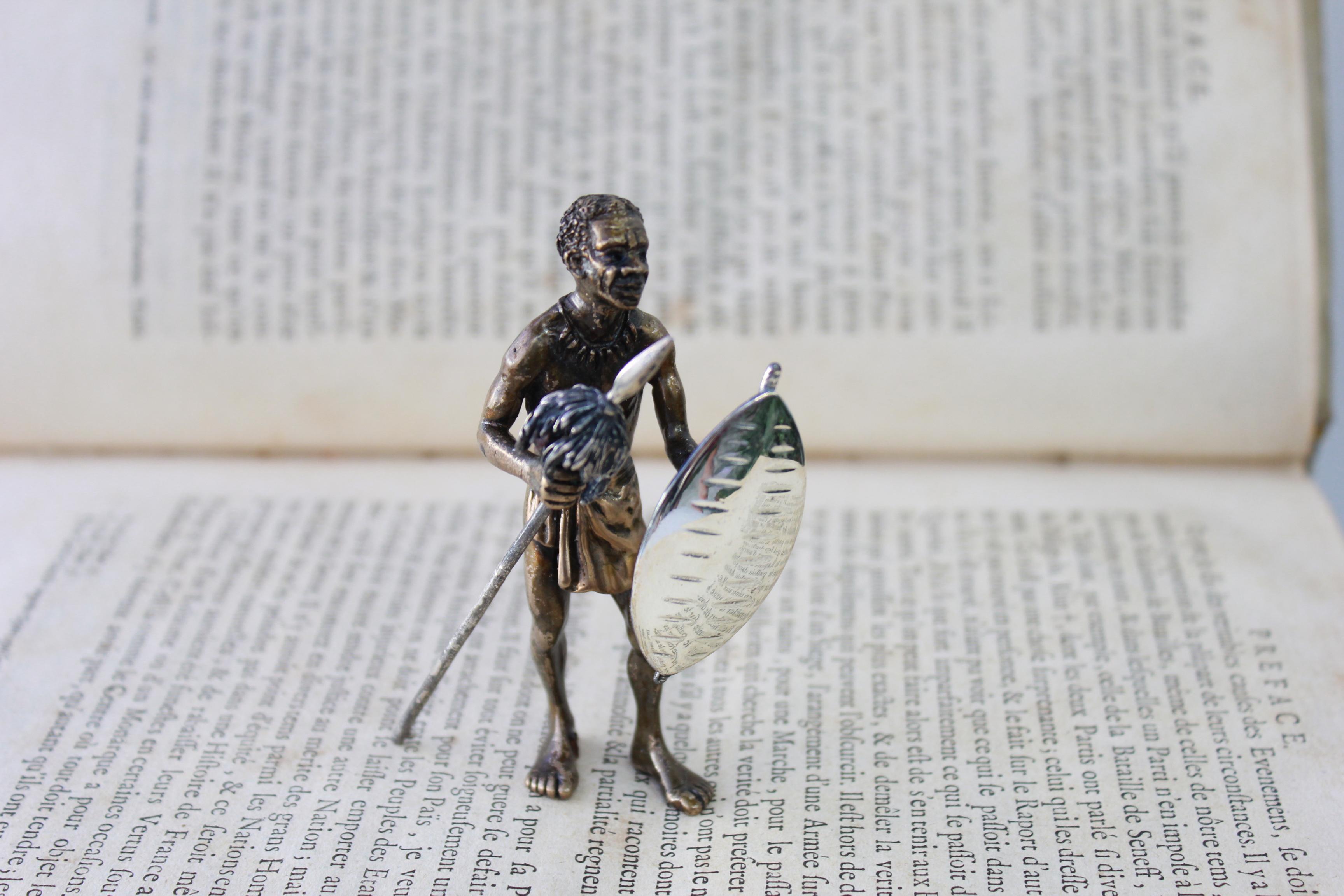 Miniatura in argento antica 007
