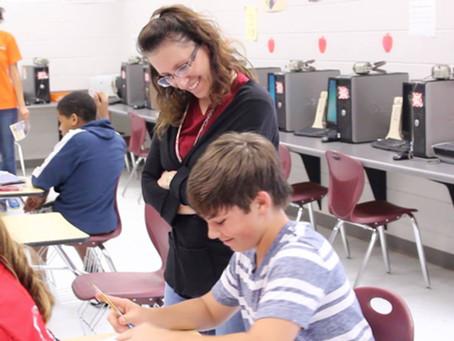Collaborating with Pine Grove Middle School, Valdosta, GA!
