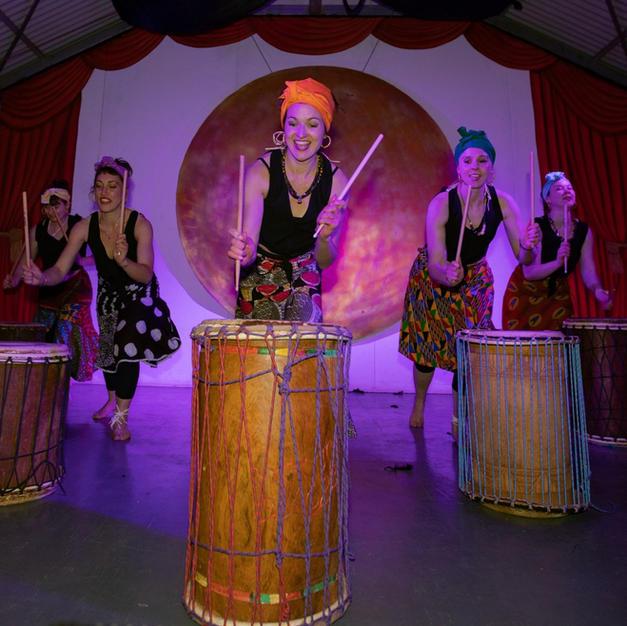 West African Dancers