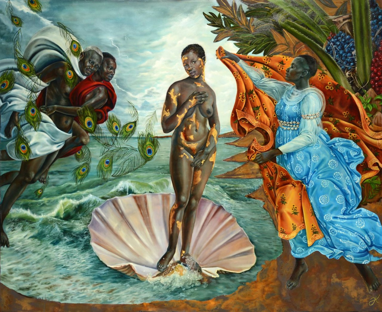 Birth of Oshun (da série B.I.T.C.H - Black Imaginary To Counter Hegemony)