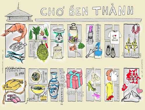 ben thanh market - small