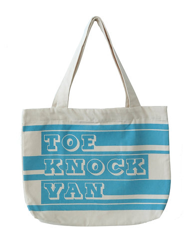 toe knock van canvas tote