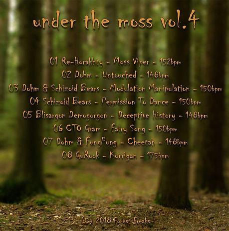 VA - Under The Moss Vol.4 - Back - Cover