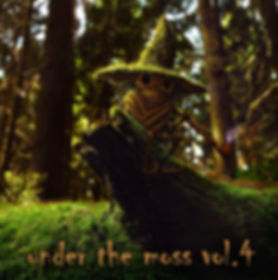 VA - Under The Moss Vol.4 - Front - Cove