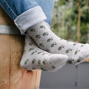 """Produktdesign """"Woi-Socke"""""""