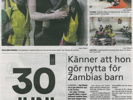 Läsvärd artikel i Alingsås Tidning