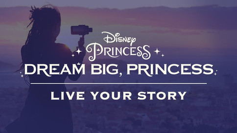 Dream Big, Princess // Disney // Good Films is honoured to have assisted in this film project // USA