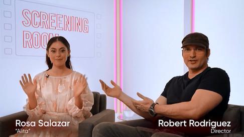 "Rosa Salazar & Robert Rodriguez on ""Alita Battle Angel"" // HBO Creative Services // USA"