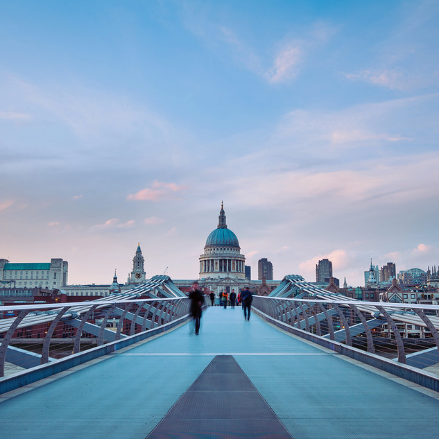 St. Paul's Cathedral from Millennium Bri
