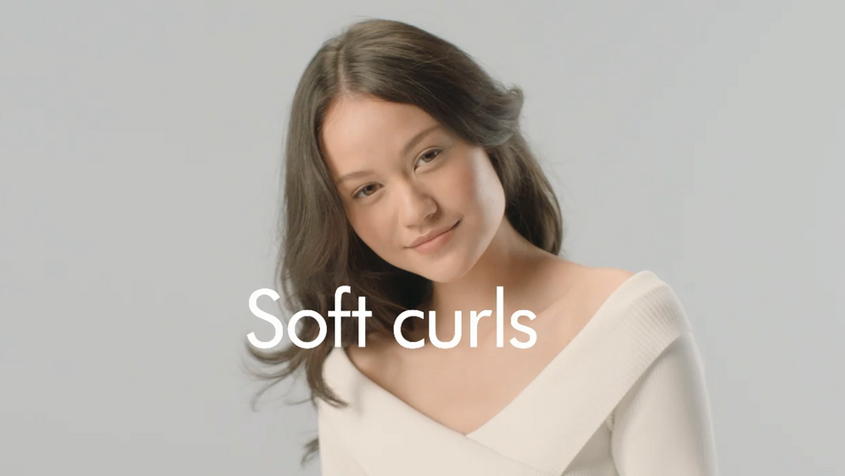 Dyson // Soft Curls // Direct for Dyson // Dyson do not permit suppliers to show their work on their own websites
