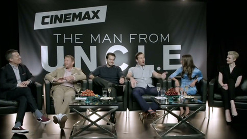 """""""Man from U.N.C.L.E."""" // Cinemax // HBO Creative Services // USA"""