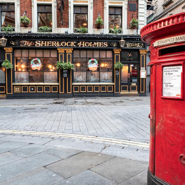 The Sherlock Holes, Northumberland St, L