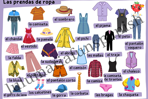 The Clothes - La Ropa - Poster