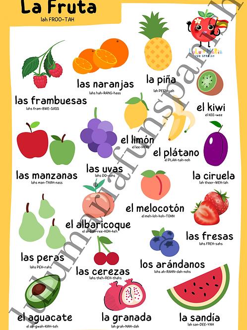 The Fruits - La Fruta - Poster
