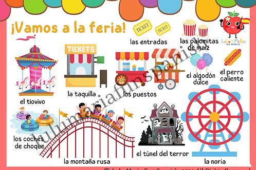 The Fairground - La Feria - Poster