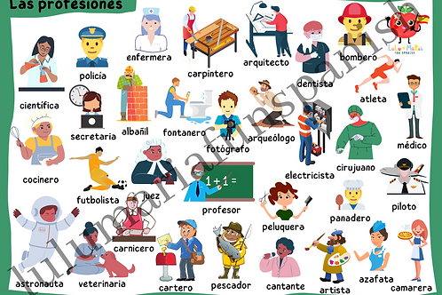 Jobs - Profesiones - Poster