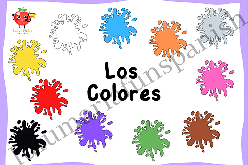 The Colores - The Colours - Package