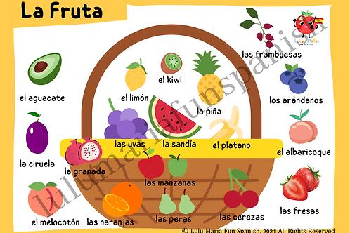 The Fruits - La Frutas - Poster