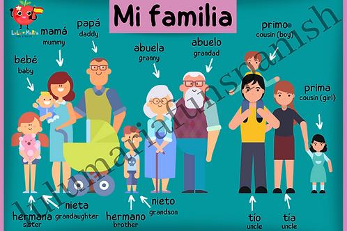 My Family - Mi Familia - Poster