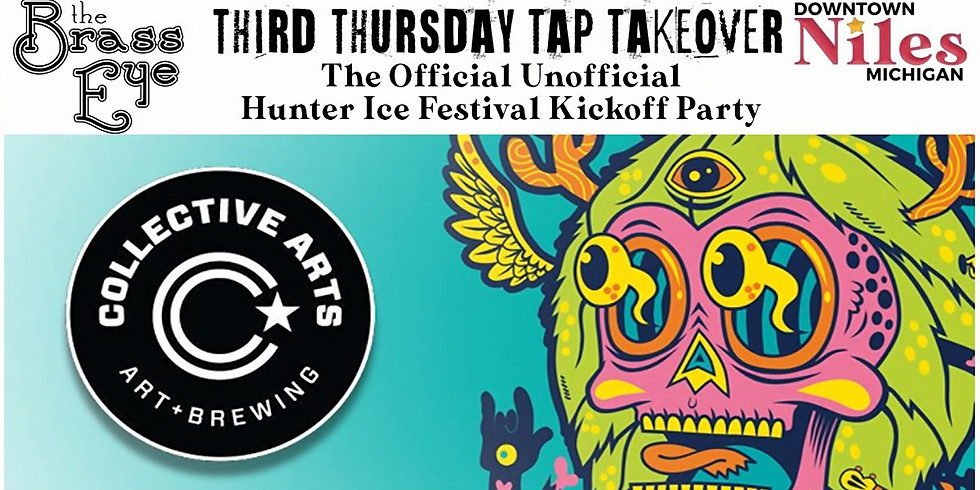 Third Thursday Tap Takeover w. Collective Arts