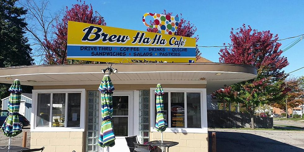 Brew Ha Ha Cafe Drive-Thru is OPEN